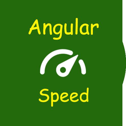 Angular Speed Calculator