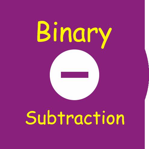 Binary Subtraction Calculator Tool