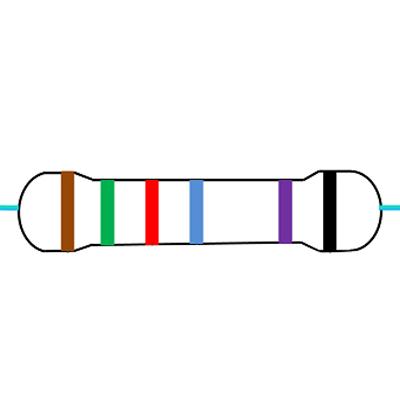 6 Band Resistor Color Code Calculator